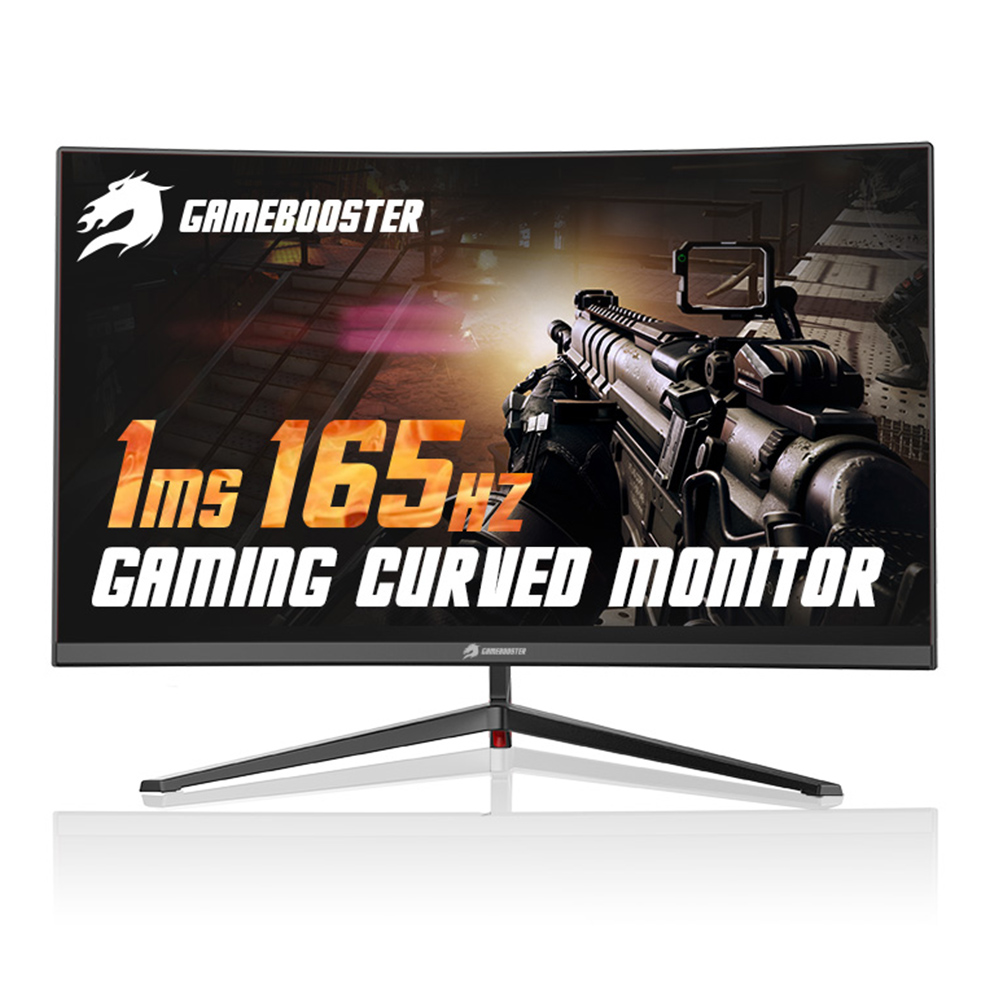 "27"" GAMEBOOSTER GB-2779CF  165Hz CURVED LED SIYAH GAMING  MONITOR Dport+2xHDMI 1MS"