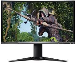 "27"" RAMPAGE  RM-165  FULL HD CURVED LED SIYAH 165Hz GAMING MONITOR Dport+HDMI 1MS"
