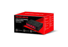 TP-LINK MERCUSYS MS105G 5 PORT 10/100/1000 MASAÜSTÜ SWITCH (YÖNETİLEMEZ)